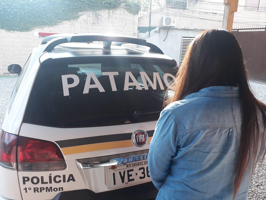Brigada Militar prende mulher com mandado de prisão em Santa Maria