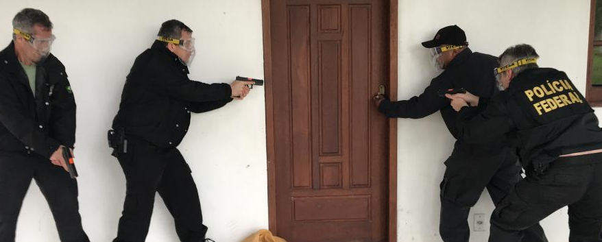 Policiais federais de Santa Maria participam de capacitação teórica e prática